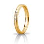 Orion Slim Oro giallo con 3 diamanti carati 0,03 (30 AFC 279-003)